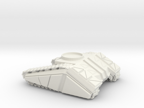 DF 1-72 TANK BASE SMALL-MED in White Natural Versatile Plastic