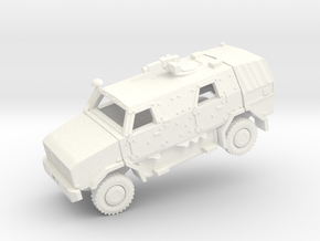 ATF DINGO2 Armored Car  in White Strong & Flexible Polished: 1:200