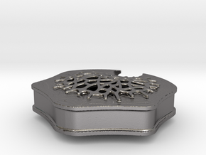 Cortical Stack Replica from Altered Carbon in Polished Nickel Steel