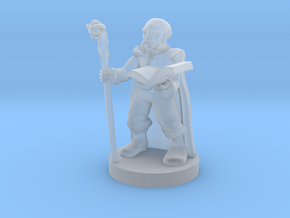 Gnome Wizard in Smooth Fine Detail Plastic