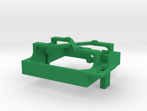Mamba Monster 2 fan mount for 30 mm fan in Green Processed Versatile Plastic