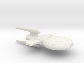 3125 Scale Gorn Megalosaurus Light Cruiser (CL) SR in White Natural Versatile Plastic