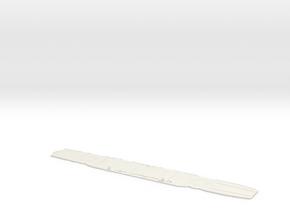 Malta 600 Flight Deck in White Natural Versatile Plastic