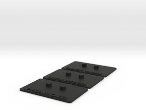 Outstanding Stands 3-Pack in Black Natural Versatile Plastic