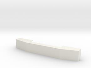 C500 Heavy Hauler Front Bumper V1 in White Natural Versatile Plastic