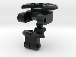 Transforming Neck Unit for TR Galvatron in Black Hi-Def Acrylate