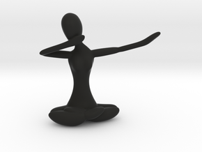 Yoga Dab in Black Natural Versatile Plastic