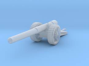 BL 6 inch Gun Mk 7 1/200 ww1 artillery in Smooth Fine Detail Plastic