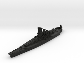 A-150 Super Yamato (Japan) GW1936 Scale in Black Premium Versatile Plastic