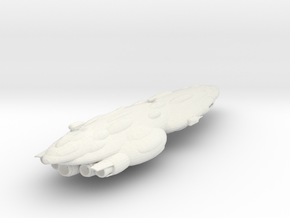 New Republic Mediator Battlecruiser Armada Scale in White Natural Versatile Plastic