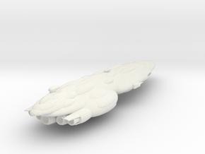 New Republic Mediator Battlecruiser Armada Scale in White Natural Versatile Plastic