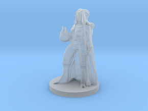 Tiefling Female Warlock 2 in Smooth Fine Detail Plastic