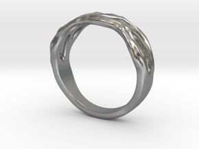 Organic Ring in Natural Silver: 10.5 / 62.75