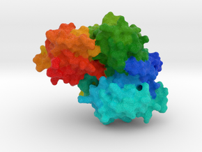 Japanese Firefly Luciferase in Full Color Sandstone