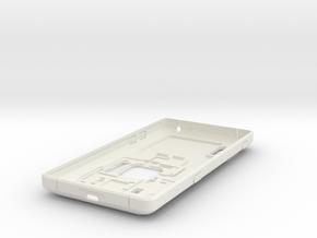 DIY Extension-Case Rev.4 for FP2 in White Premium Versatile Plastic