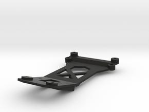 Tamiya Thundershot T-Bone bumper mount in Black Natural Versatile Plastic