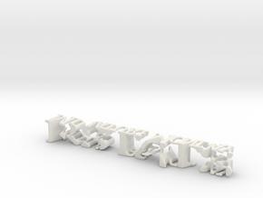3dWordFlip: RSTATS/MiniatureMonday in White Natural Versatile Plastic