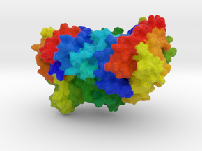 Bacterial Luciferase in Full Color Sandstone