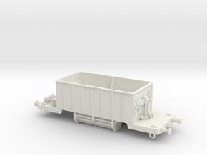 Hopper wagon - Tolva pedrera in White Natural Versatile Plastic