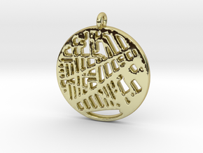 Vesterbro pendant in 18k Gold Plated Brass