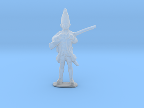 Thin Figurine in Smooth Fine Detail Plastic