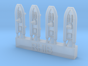 1/700 RHIBs in Smoothest Fine Detail Plastic
