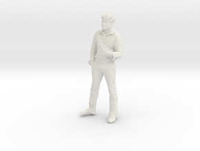 Printle C Homme 207 - 1/32 - wob in White Natural Versatile Plastic