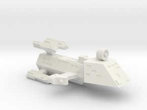 3788 Scale WYN (Kzinti) Frigate (ZFF) SRZ in White Strong & Flexible