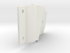 outer rt. improved dropout shell (1) in White Natural Versatile Plastic