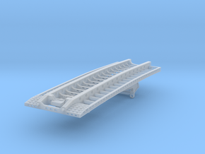 West Coast 9 Axle Neck And Deck in Smooth Fine Detail Plastic