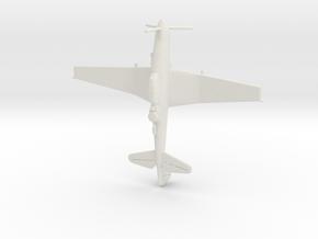 1:285 Junkers 187  in White Natural Versatile Plastic