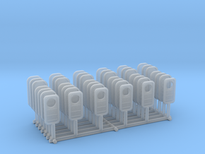 1/192 USN Watertight Doors w/o handles SET in Smooth Fine Detail Plastic