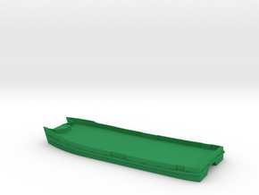 Sydney Ferry Waterline Hull in Green Processed Versatile Plastic