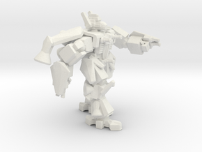 Iron Gut Jumper Mech in White Natural Versatile Plastic