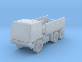 1:100 Miniature M1083 Oshkosh Standard Cargo truck in Smooth Fine Detail Plastic: 1:100