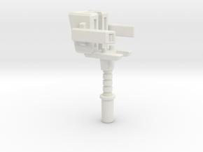 Hammer of the Primes in White Premium Versatile Plastic