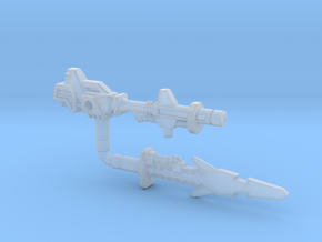Metalhawk / Vector Prime Weapons (3mm, 5mm) in Smooth Fine Detail Plastic: Small