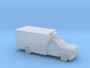 1:144 Scale Ford Ambulance in Smooth Fine Detail Plastic