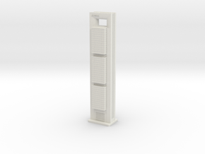 Torre Cepsa (1:2000) in White Natural Versatile Plastic