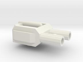 TR Fortress Maximus turret in White Natural Versatile Plastic