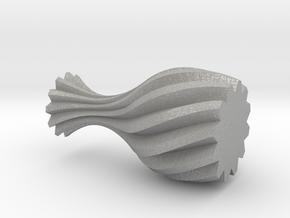 Spiral Vase in Aluminum