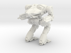 SuperNova Mechwarrior in White Natural Versatile Plastic