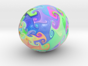 Color Dance 5-10-15-22 cm in Glossy Full Color Sandstone: Extra Small