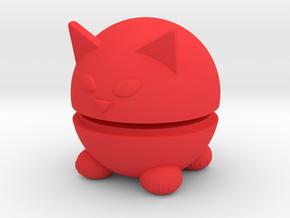 Pets Nesting Dolls - Cat in Red Processed Versatile Plastic