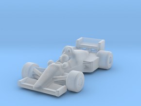 FW08C F1 Z-Scale in Smooth Fine Detail Plastic: 1:220 - Z