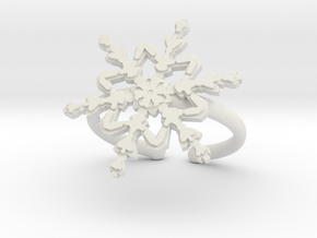 Snowflake ring 2 h21d165a adjustable 39 in White Premium Strong & Flexible