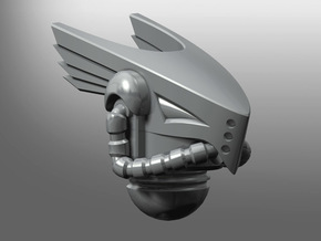 Falconiae pattern Prime Helmet in Smooth Fine Detail Plastic: Small