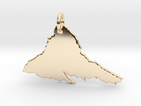 Matterhorn Necklace in 14K Yellow Gold