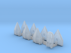 Omni Scale General Skiffs & Courier Flotilla WEM in Smooth Fine Detail Plastic