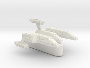 3125 Scale Lyran Light Tactical Transport (LTT) CV in White Natural Versatile Plastic